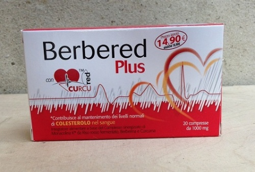Berbered Plus 20cps 1000mg